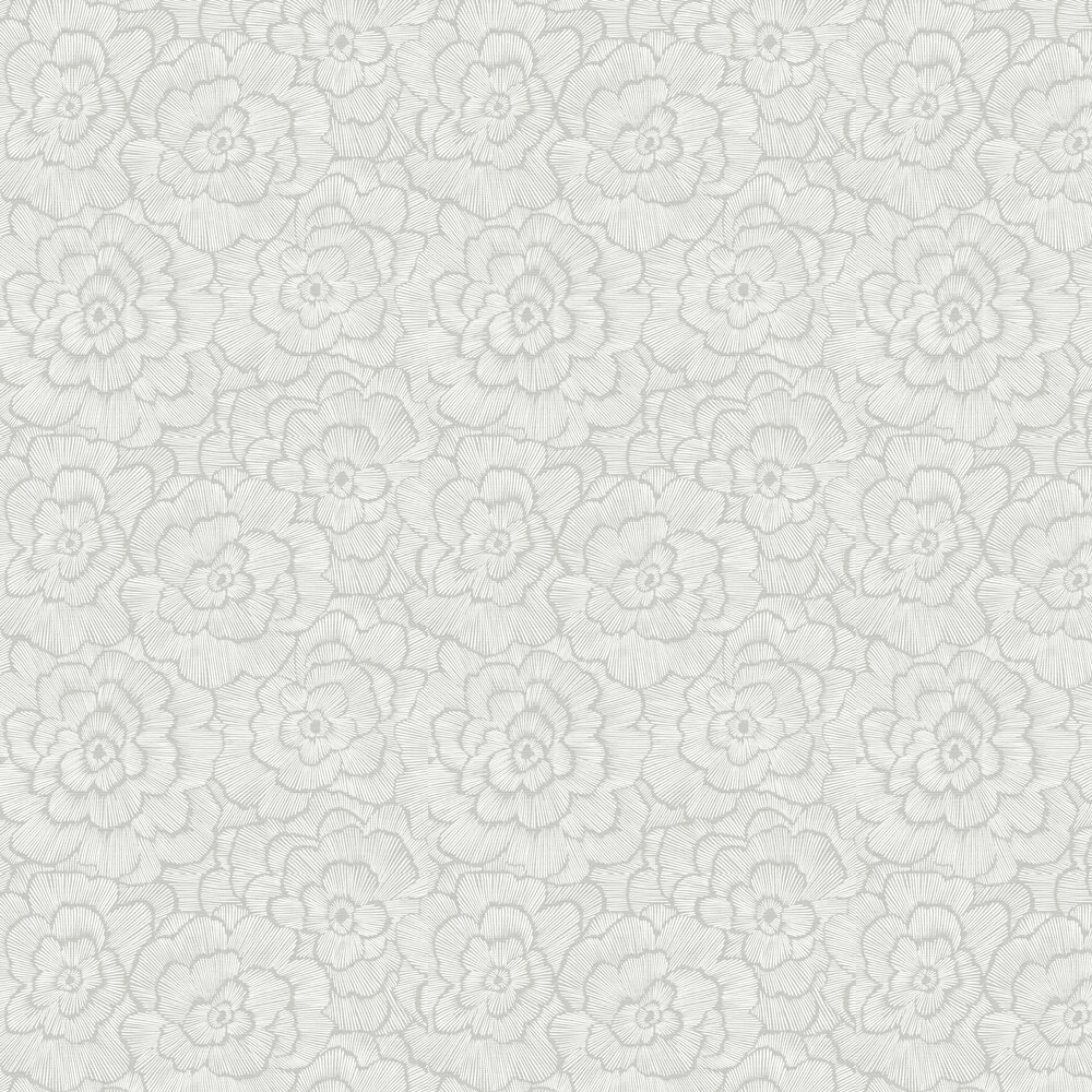 Periwinkle Wallpaper - Light Grey  - by A Street Prints