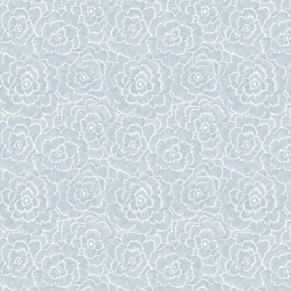 Periwinkle Wallpaper - Blue  - by A Street Prints