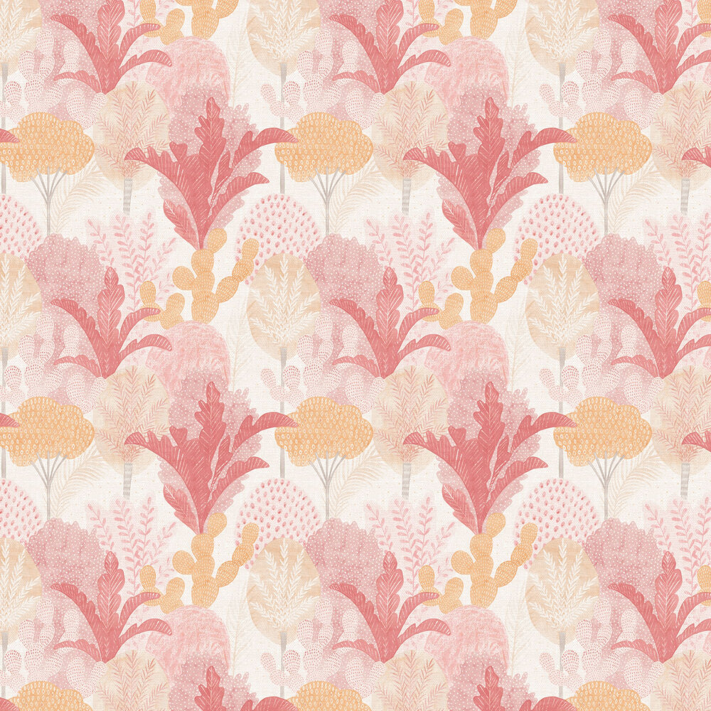 Ari  Wallpaper - Pink  - by A Street Prints