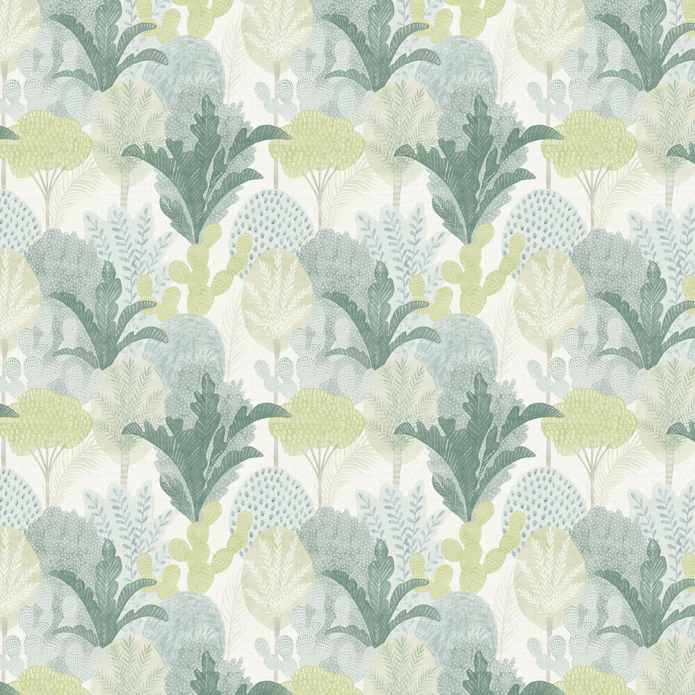 Ari  Wallpaper - Green  - by A Street Prints