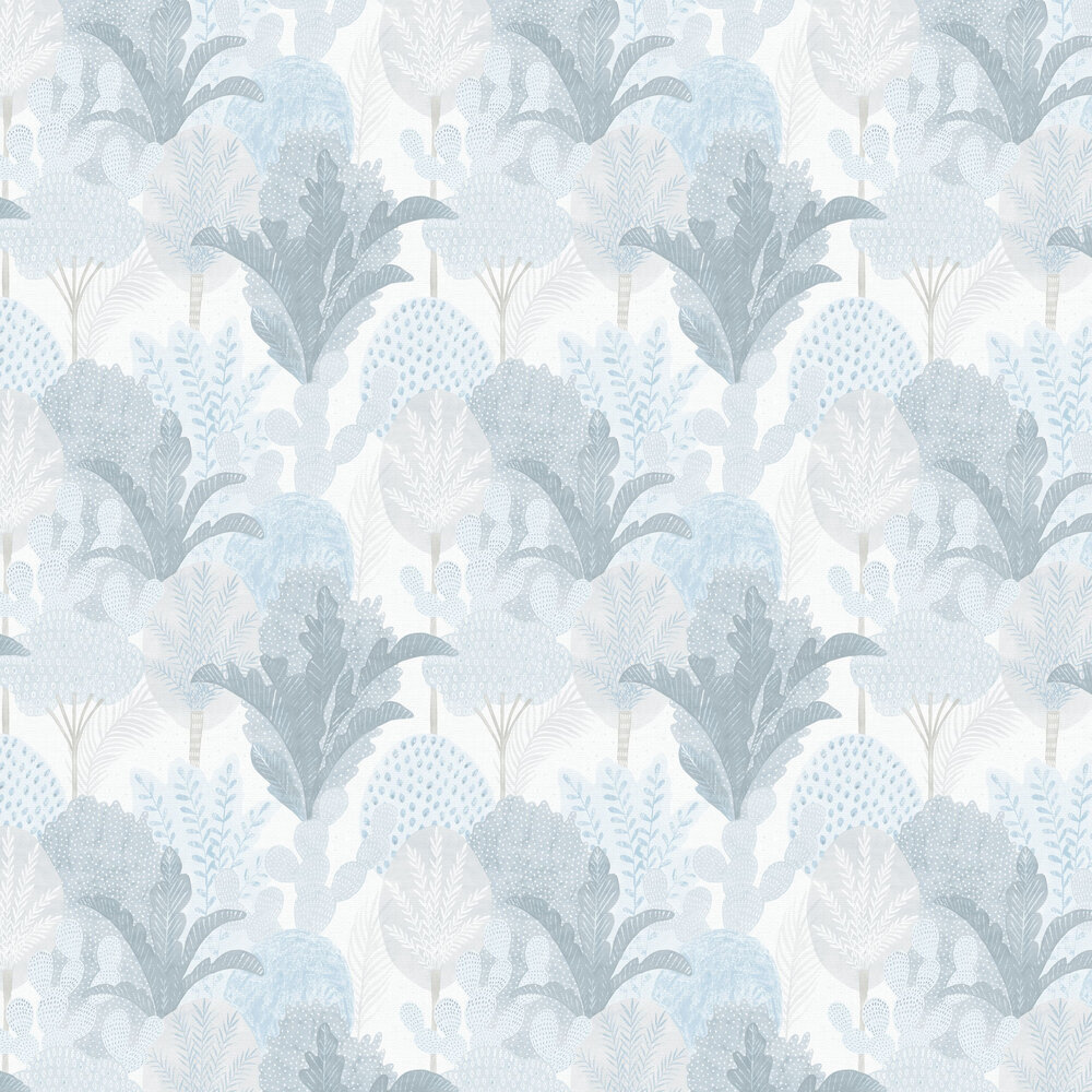 Ari  Wallpaper - Blue  - by A Street Prints
