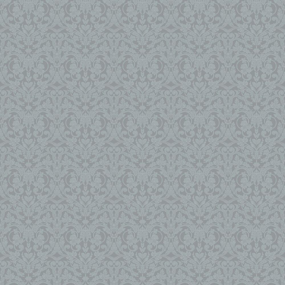 Rosali Wallpaper - Grey - by Galerie