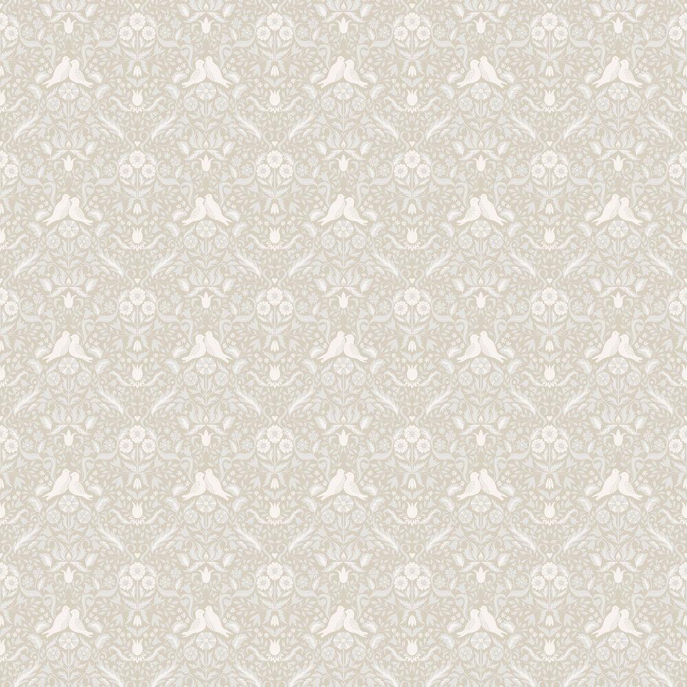 Niki Wallpaper - Beige - by Galerie