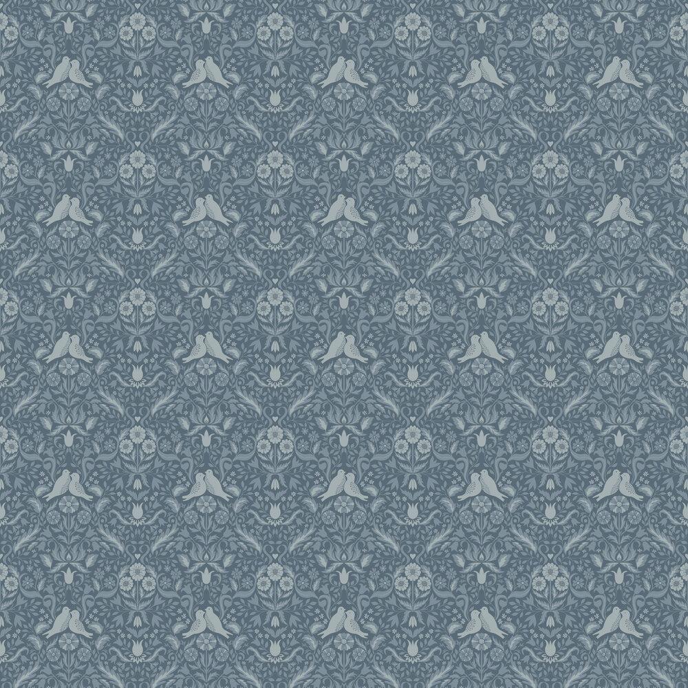 Niki Wallpaper - Grey - by Galerie