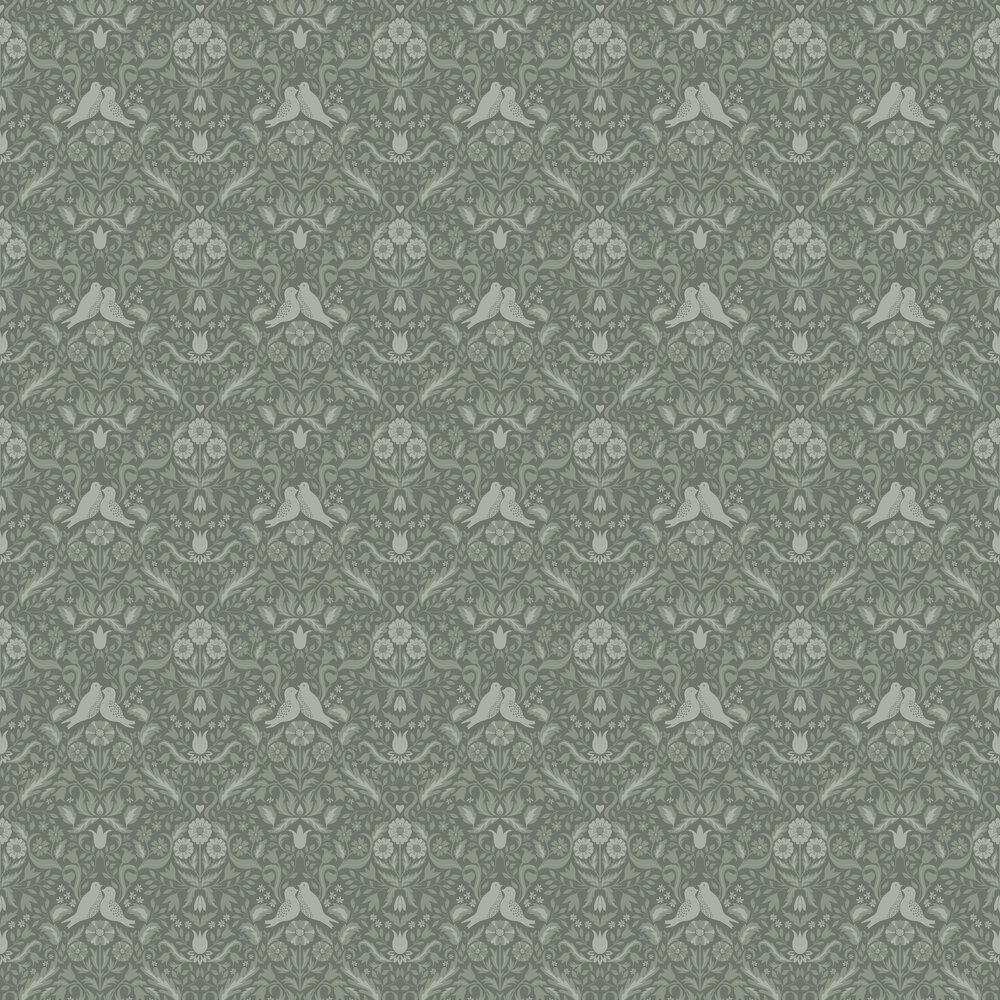 Niki Wallpaper - Green - by Galerie