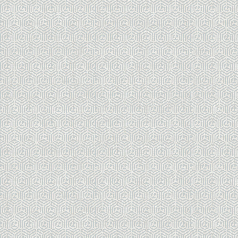 Architect Flock Wallpaper - Dusk Grey - by SketchTwenty 3