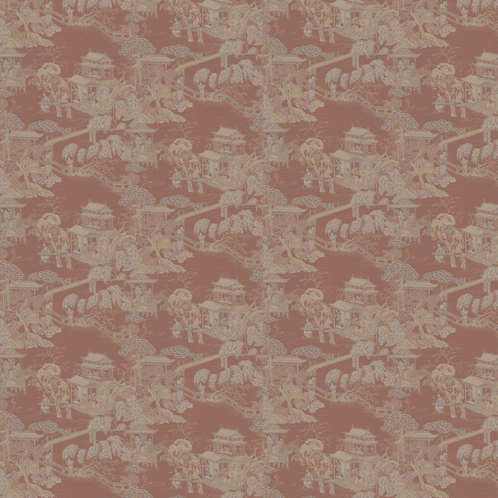 Pagoda   Wallpaper - Russet - by SketchTwenty 3
