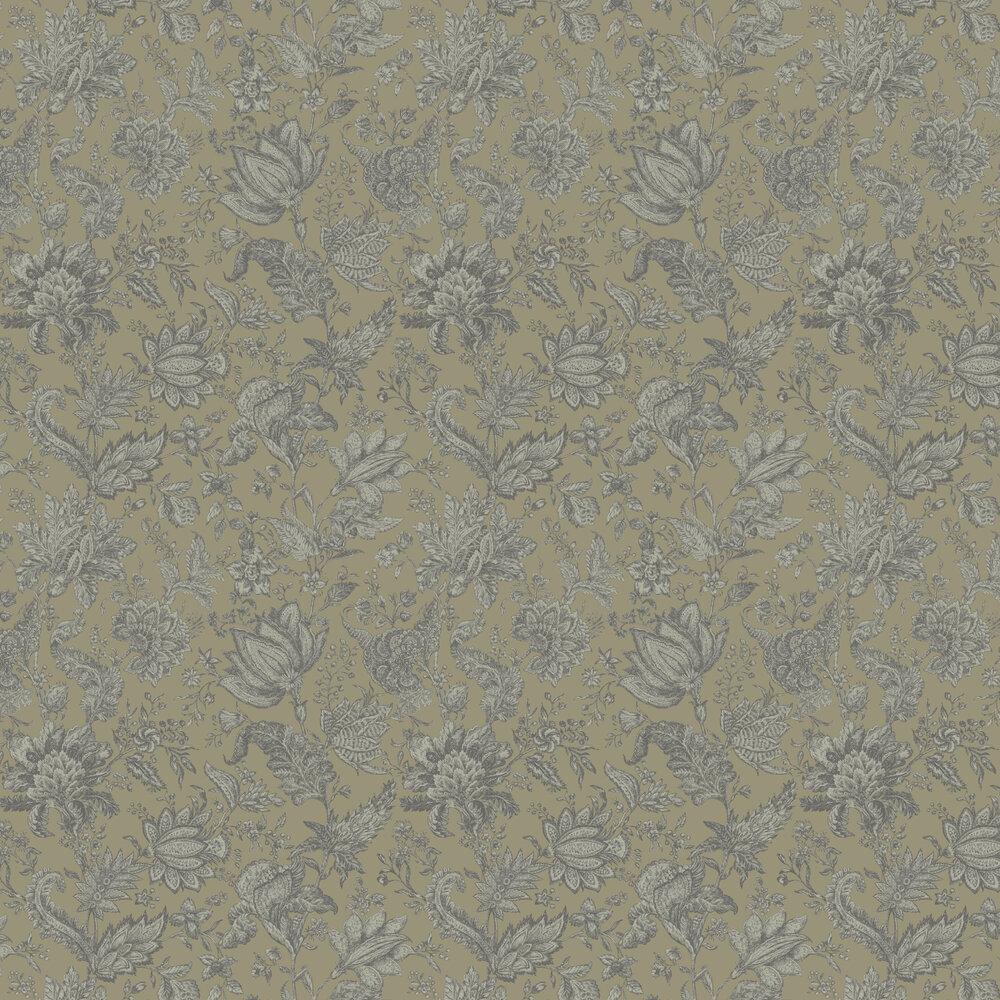 Victoria   Wallpaper - Gold / Green - by SketchTwenty 3