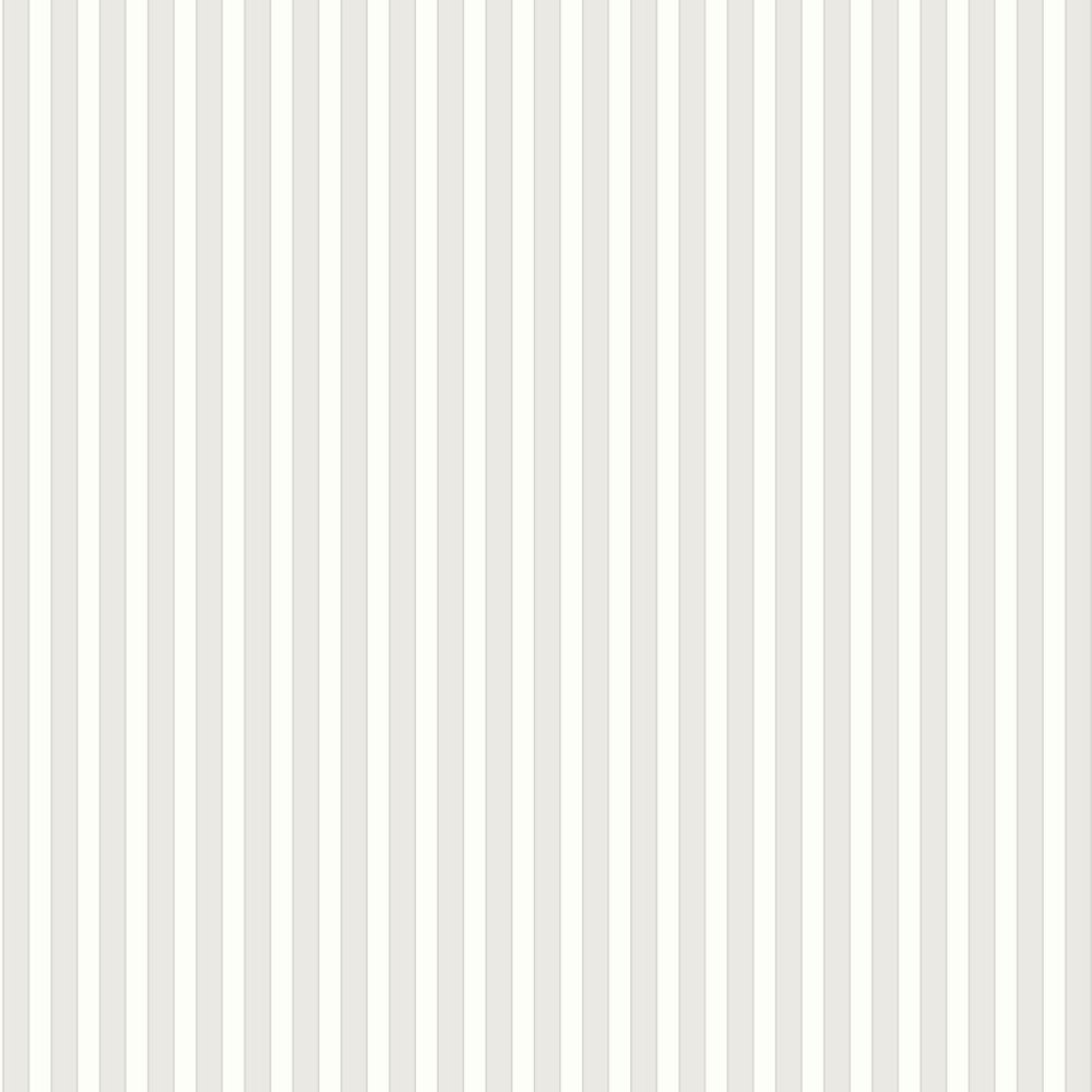 Formal Stripe Wallpaper - Ivory / Grey - by Galerie