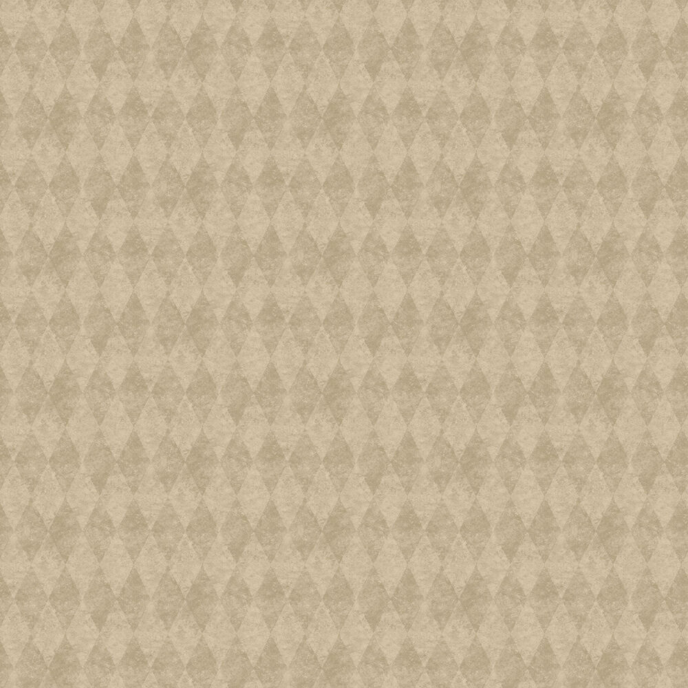 Harlequin Wallpaper - Warm Gold - by Galerie