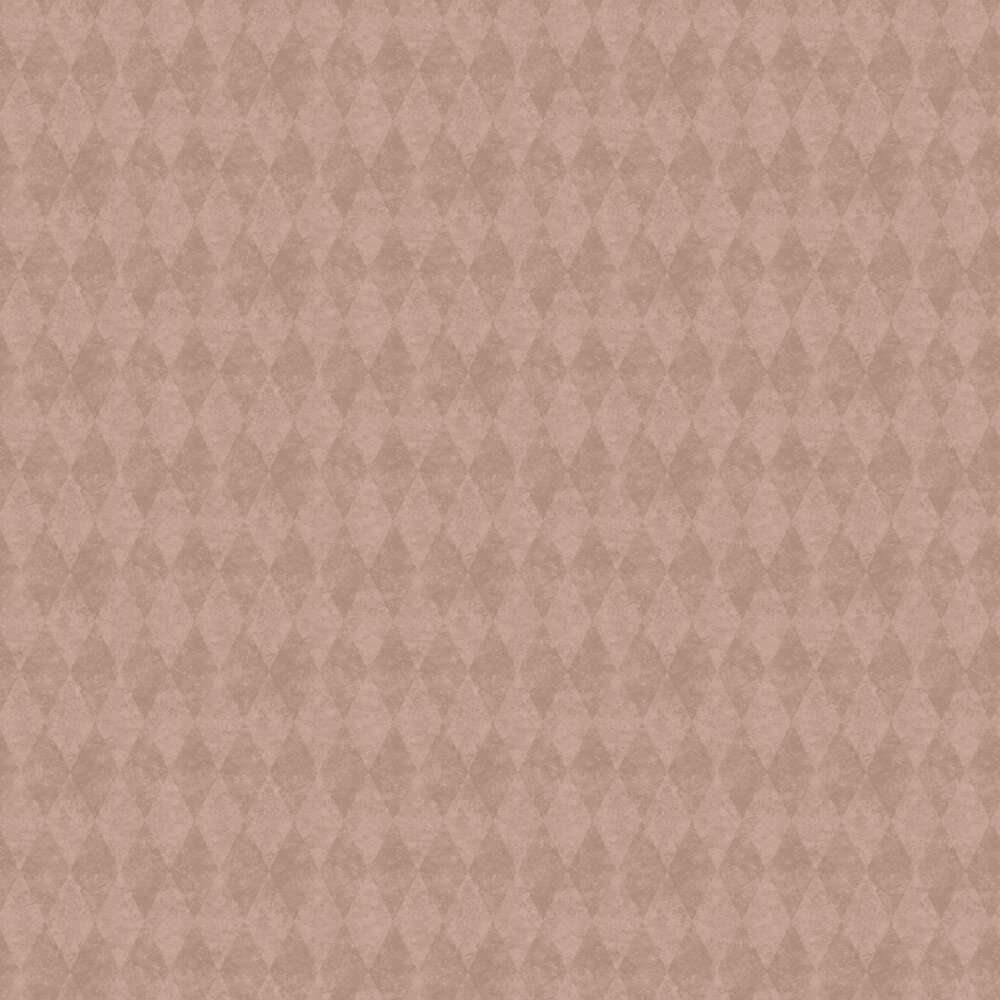 Harlequin Wallpaper - Rose Gold  - by Galerie