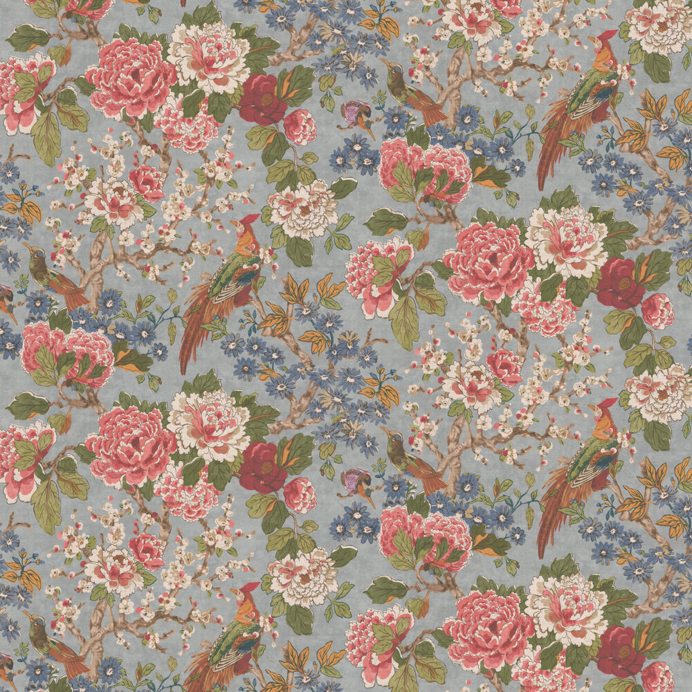 Jardine Wallpaper - Old Blue - by Colefax and Fowler