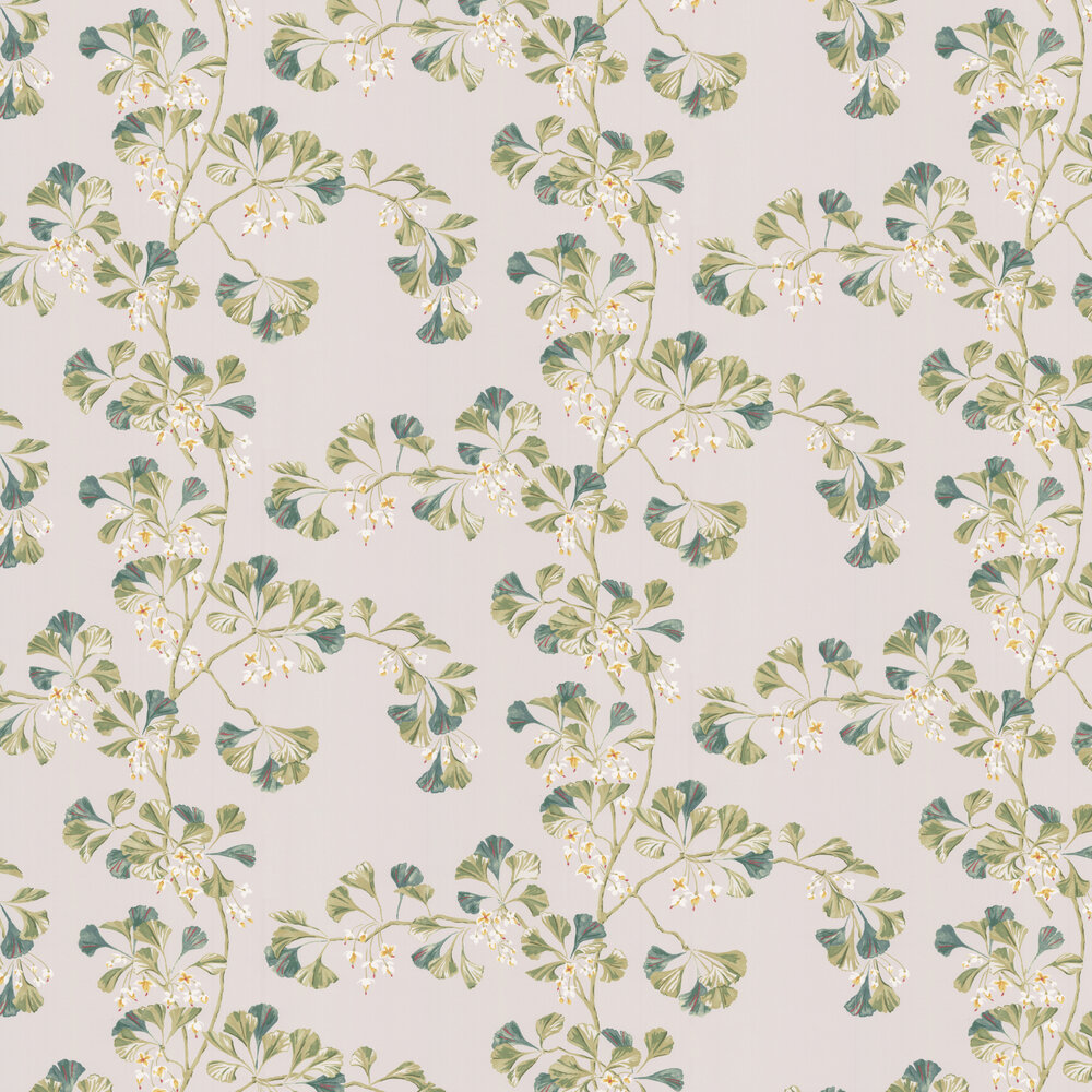 Greenacre Wallpaper - Leaf Green - by Colefax and Fowler