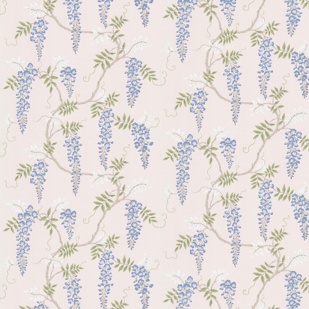 Grayshott Wallpaper - Blue / Green - by Colefax and Fowler