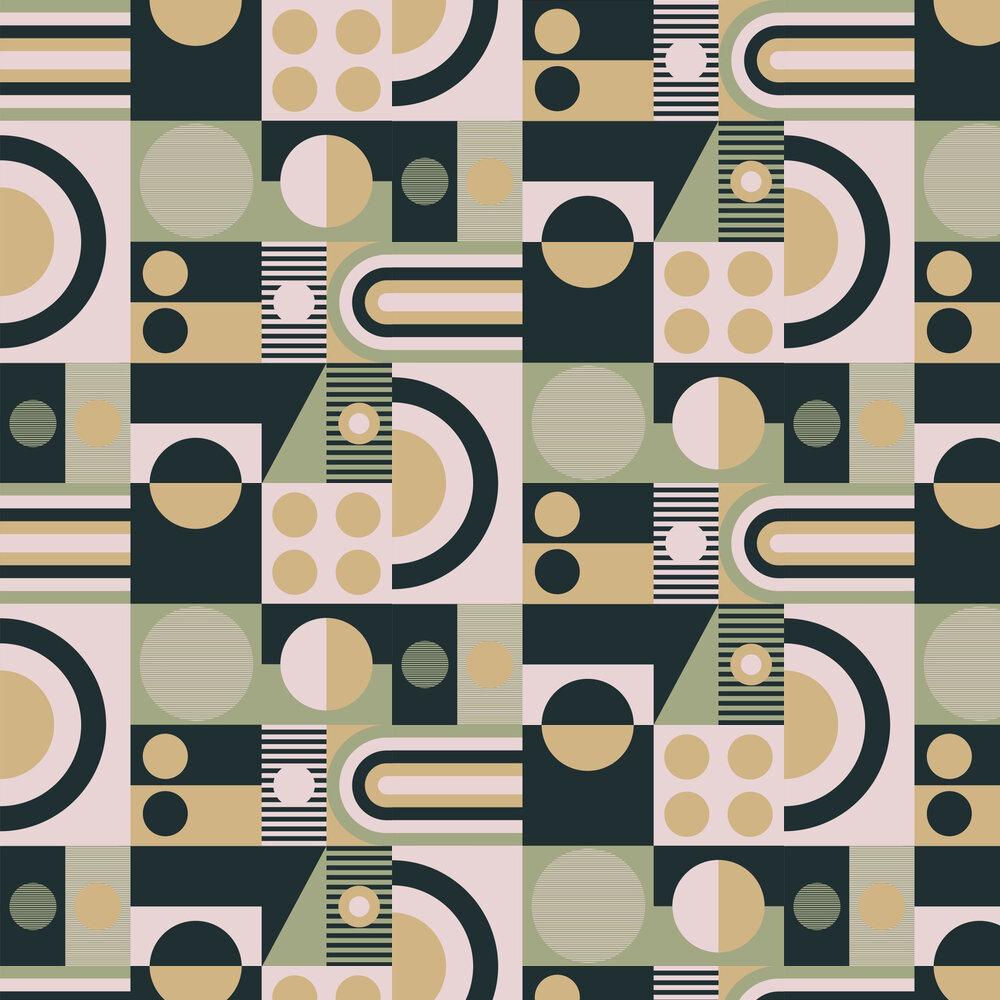 FAB! Wallpaper - British Lichen - by Mini Moderns