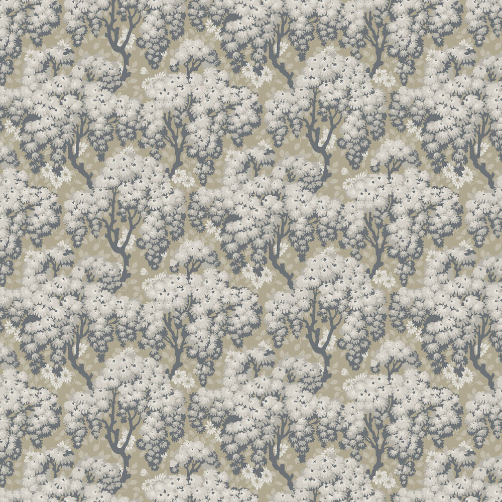 Ragnvi Wallpaper - Clay - by Sandberg