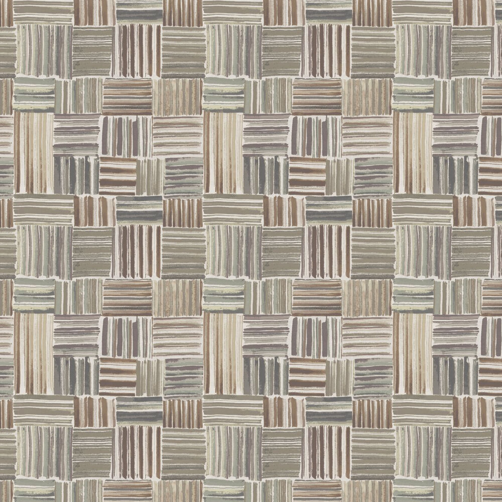 Palenque Wallpaper - Brown - by Missoni Home