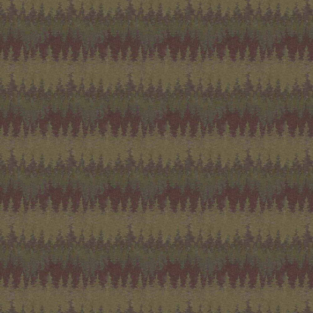 Alps Wallpaper - Brown - by Missoni Home