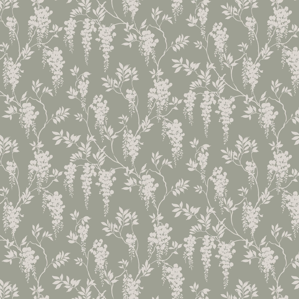 Hedvig Wallpaper - Garden Green - by Sandberg