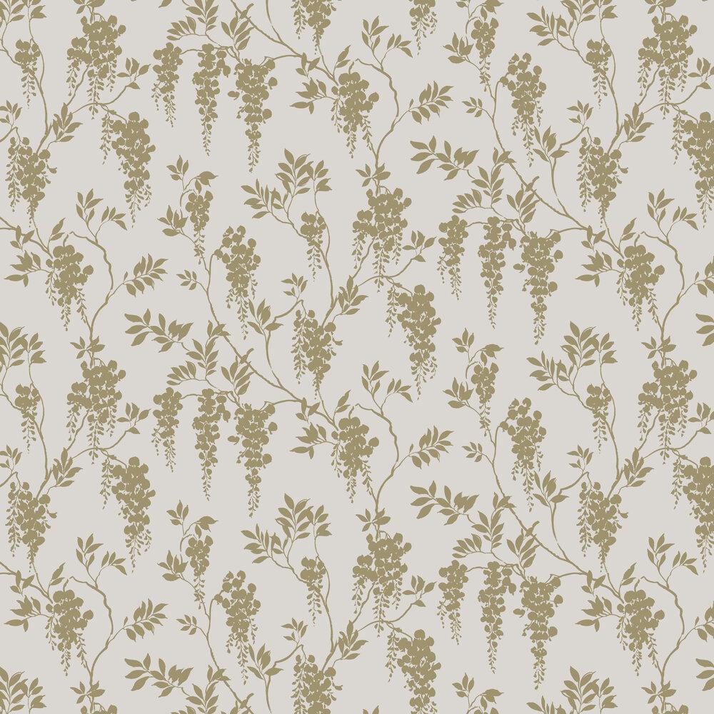 Hedvig Wallpaper - Honey - by Sandberg