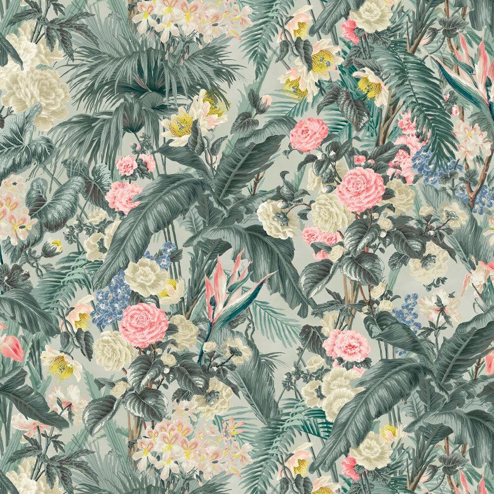 Kahanu Wallpaper - Amazonite - by Linwood