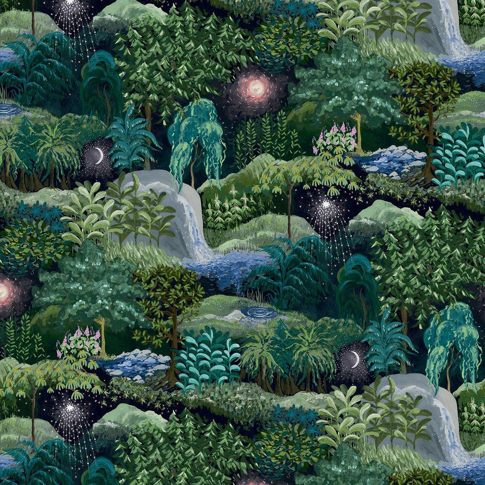 Nightfall Wallpaper - Pitch - by Linwood