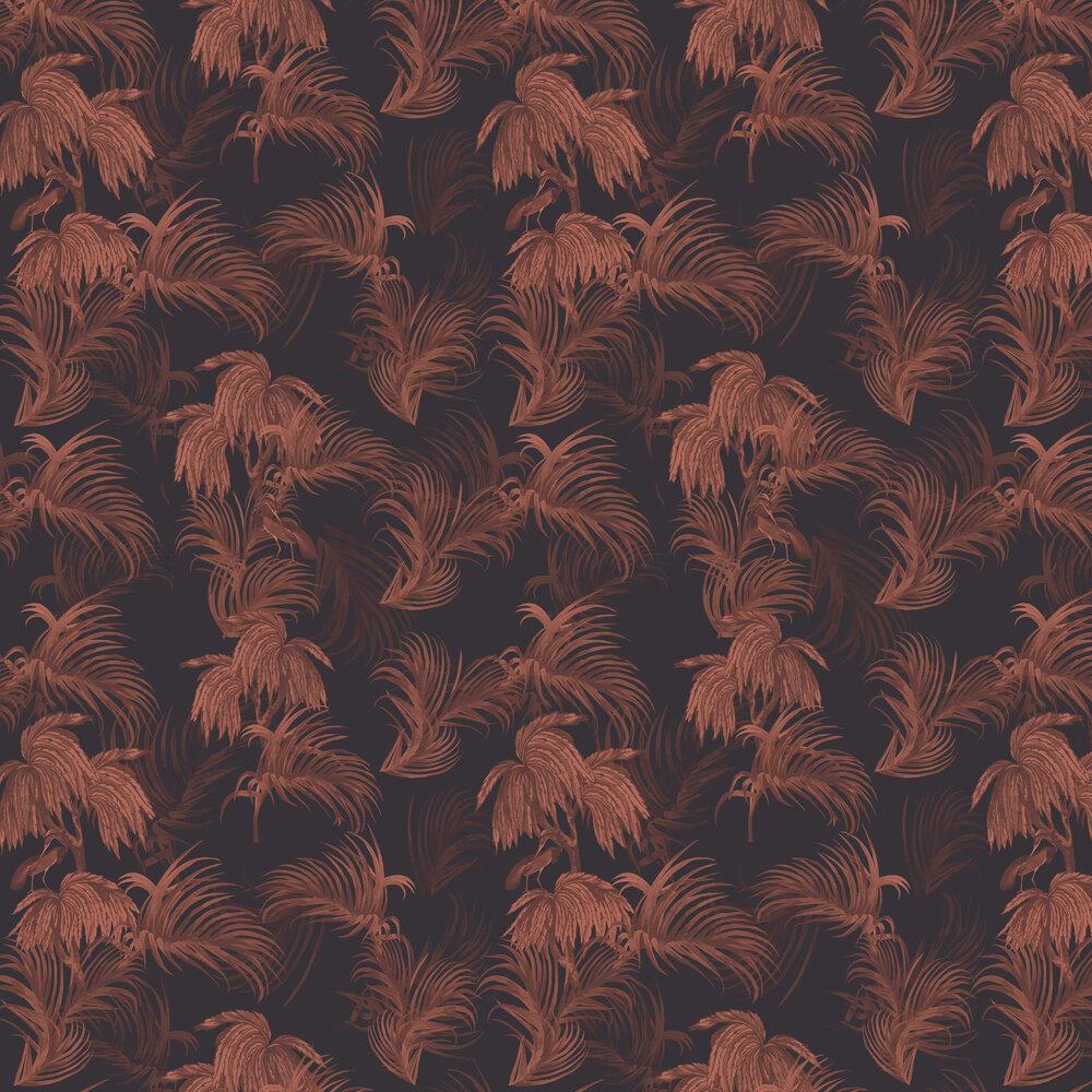 Horizon Wallpaper - Purple - by Ted Baker