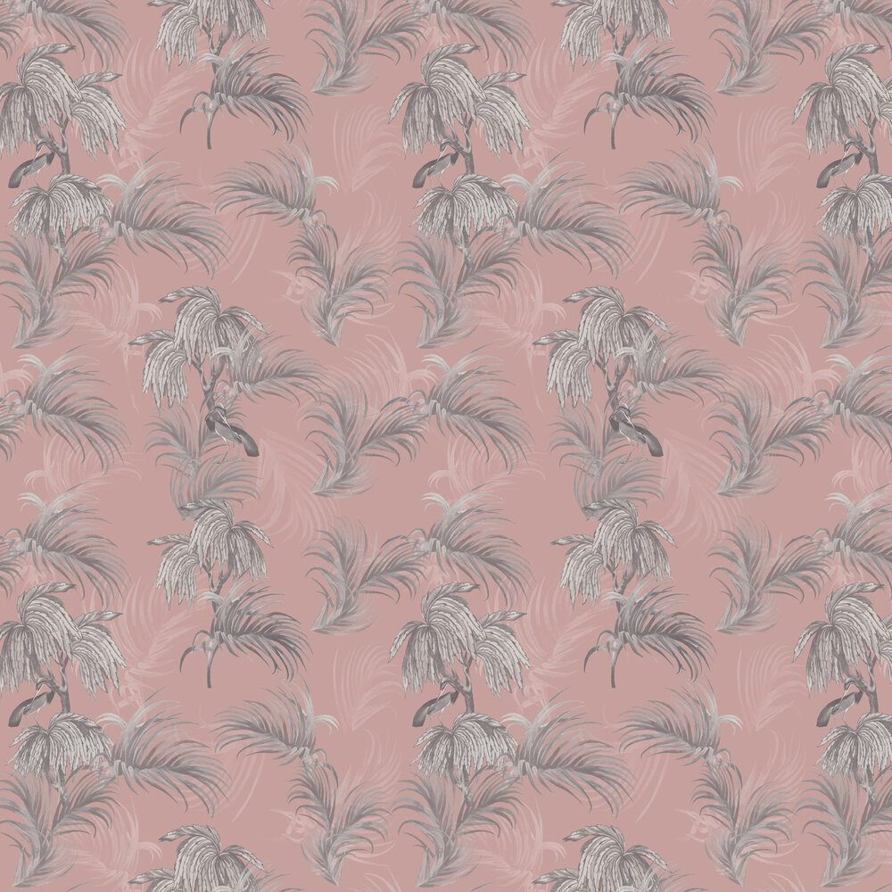 Horizon Wallpaper - Pink - by Ted Baker