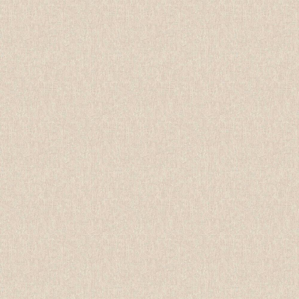 Geometric Plain Wallpaper - Beige - by Eijffinger