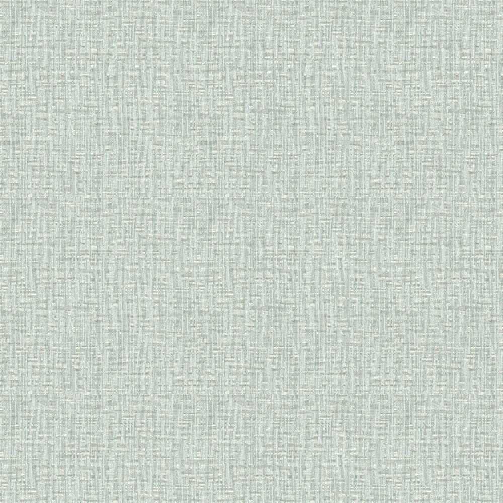 Geometric Plain Wallpaper - Mint - by Eijffinger