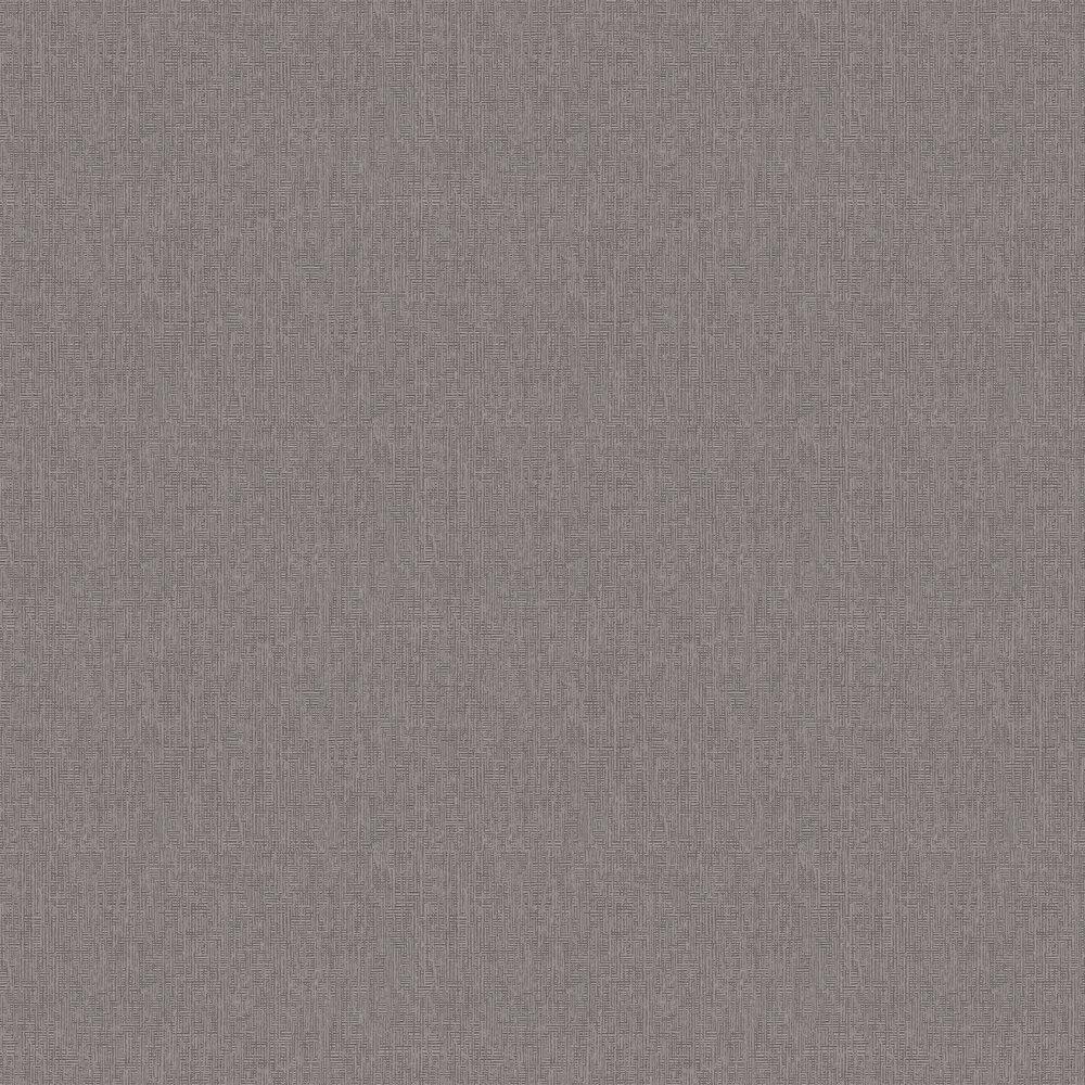 Geometric Plain Wallpaper - Grey - by Eijffinger