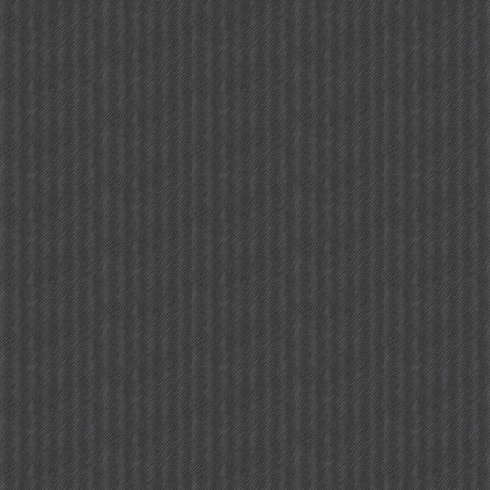 Natural Stripe Wallpaper - Black - by Eijffinger