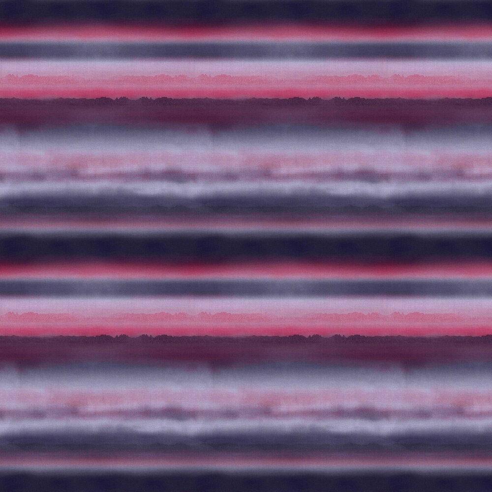 Horizon Wallpaper - Mulberry - by Graham & Brown