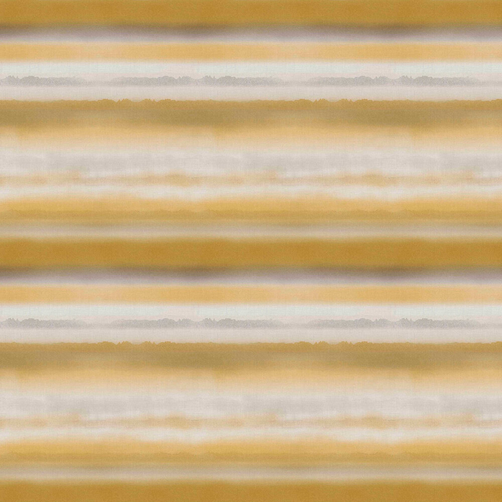 Horizon Wallpaper - Mustard - by Graham & Brown