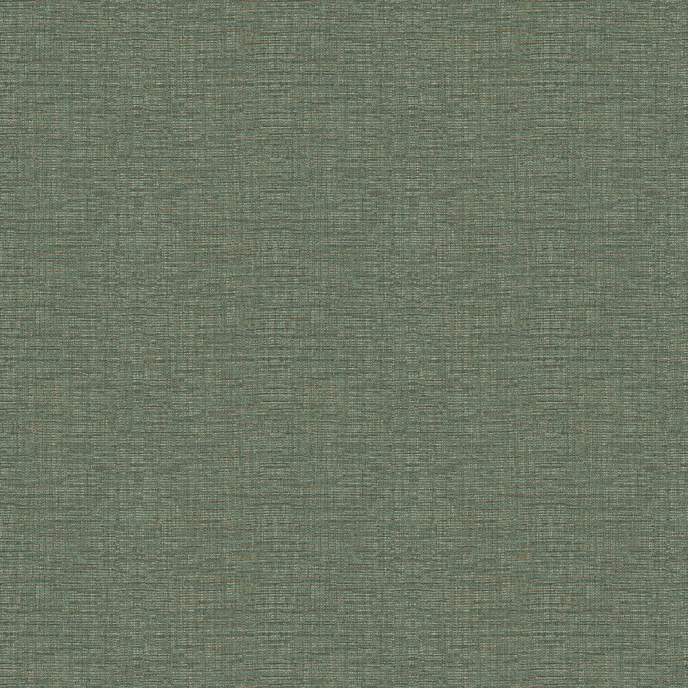 Tweed Wallpaper - Green Gold - by Coordonne