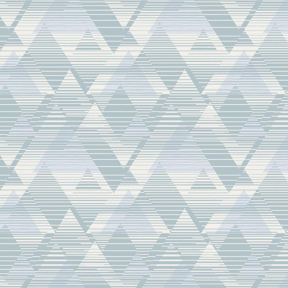 Prism Wallpaper - Light Blue - by SK Filson