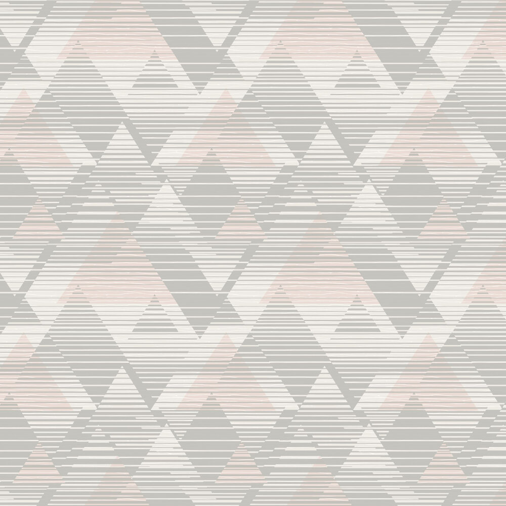 Prism Wallpaper - Taupe - by SK Filson