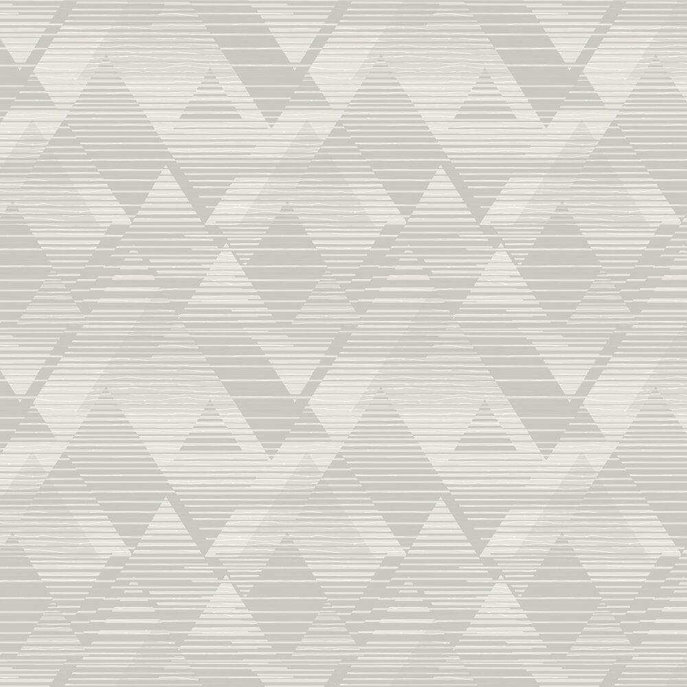 Prism Wallpaper - Grey - by SK Filson