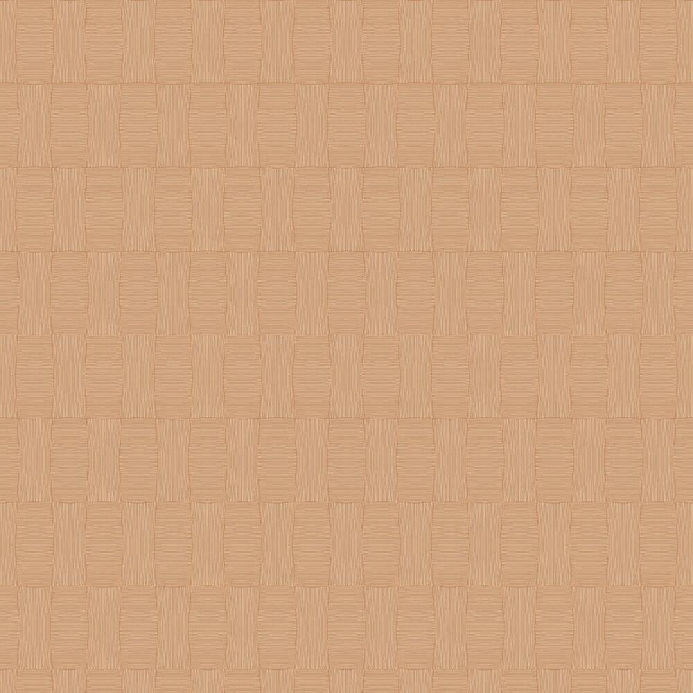Blocks Wallpaper - Orange - by SK Filson