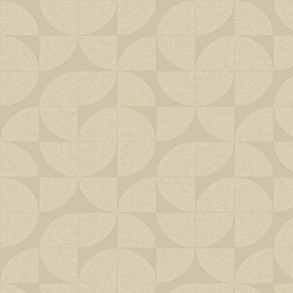 Orbit Wallpaper - Beige - by SK Filson