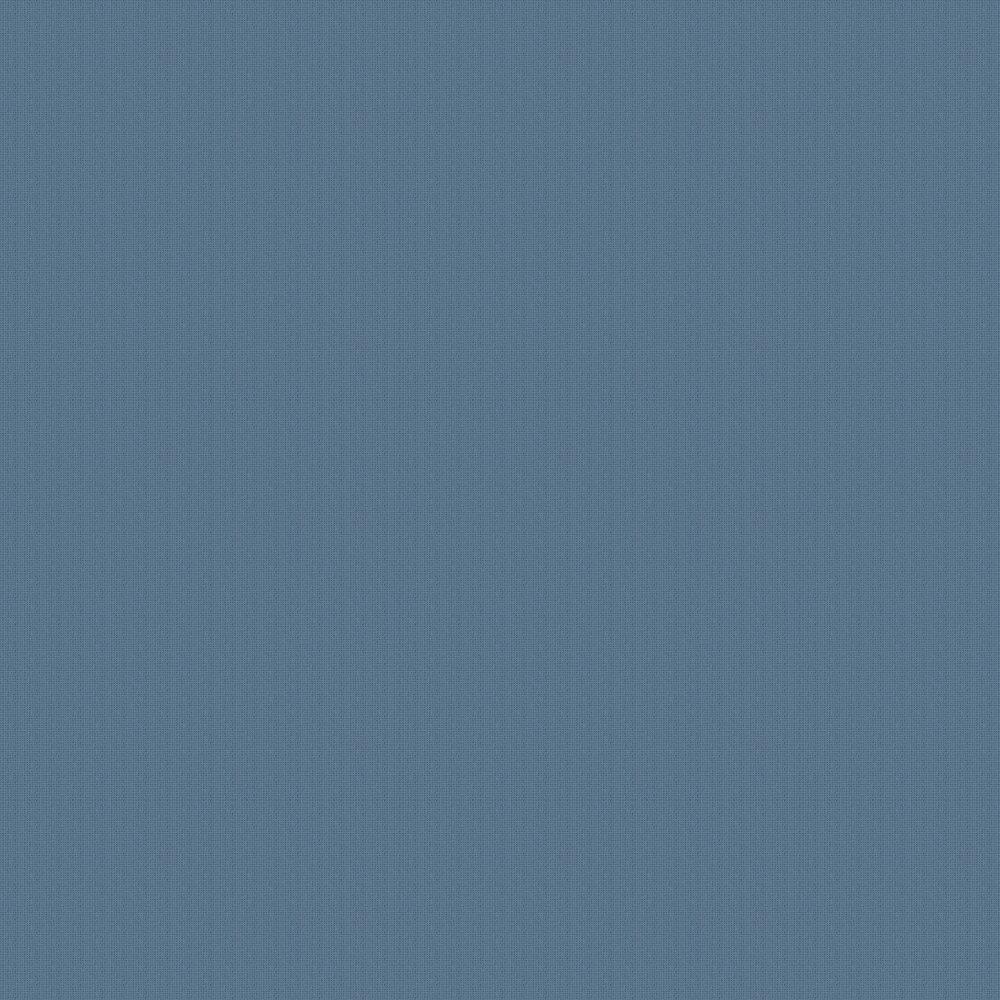 Linen Plains Wallpaper - Blue - by SK Filson