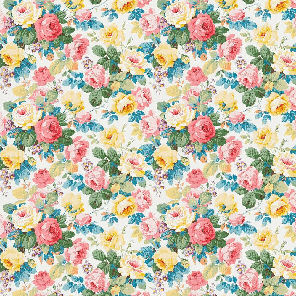 Chelsea Wallpaper - Rhodera / Papavera - by Sanderson
