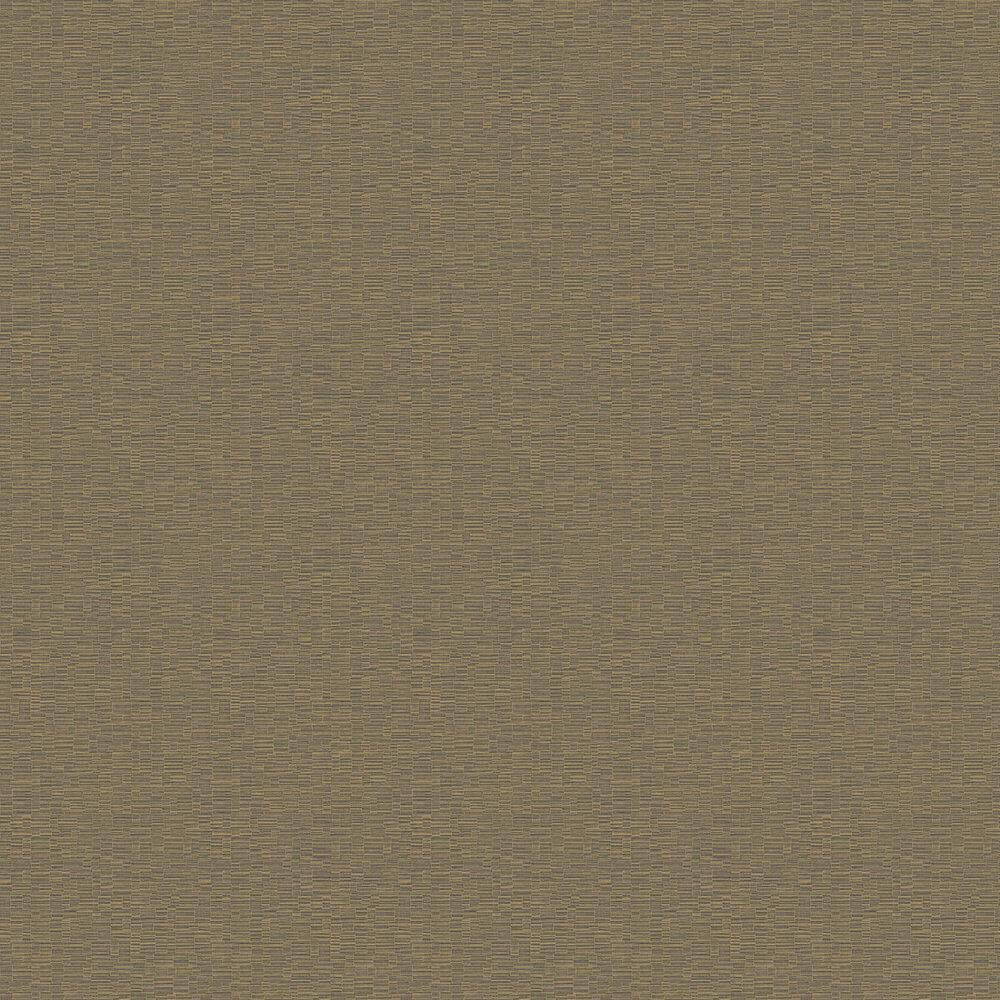 Wild Wallpaper - Camel / Noir - by Casadeco