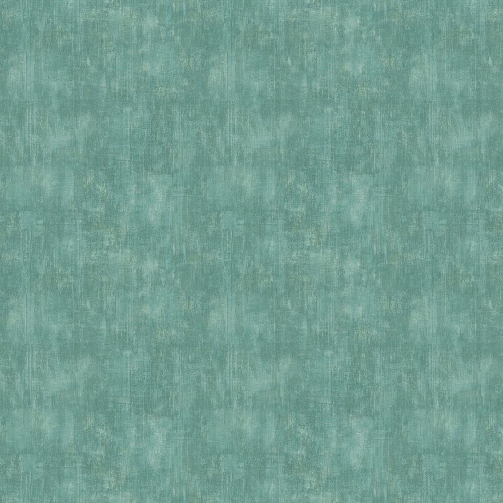 Uni Wallpaper - Turquoise - by Casadeco