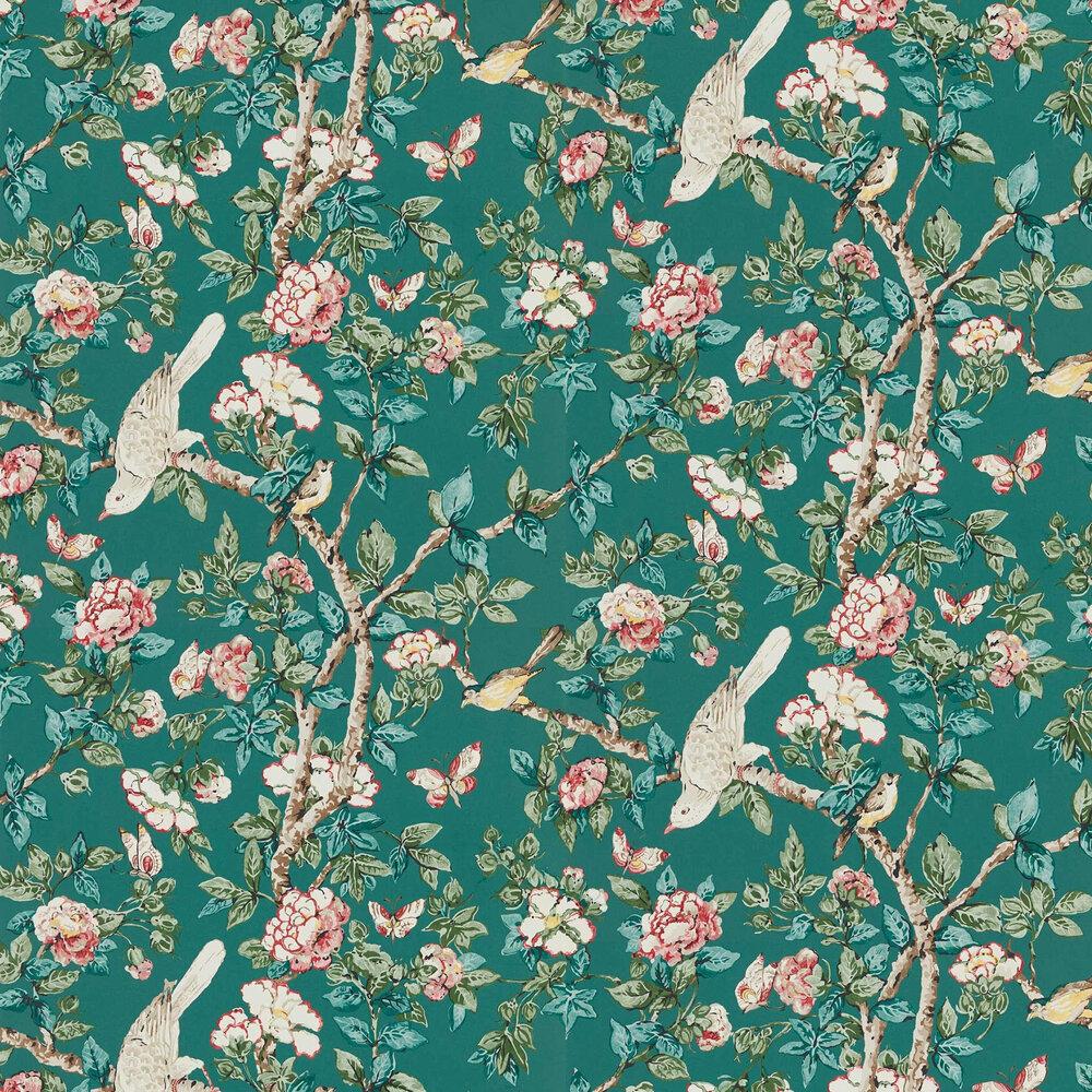 Caverley Wallpaper - Chasm / Carmen - by Sanderson