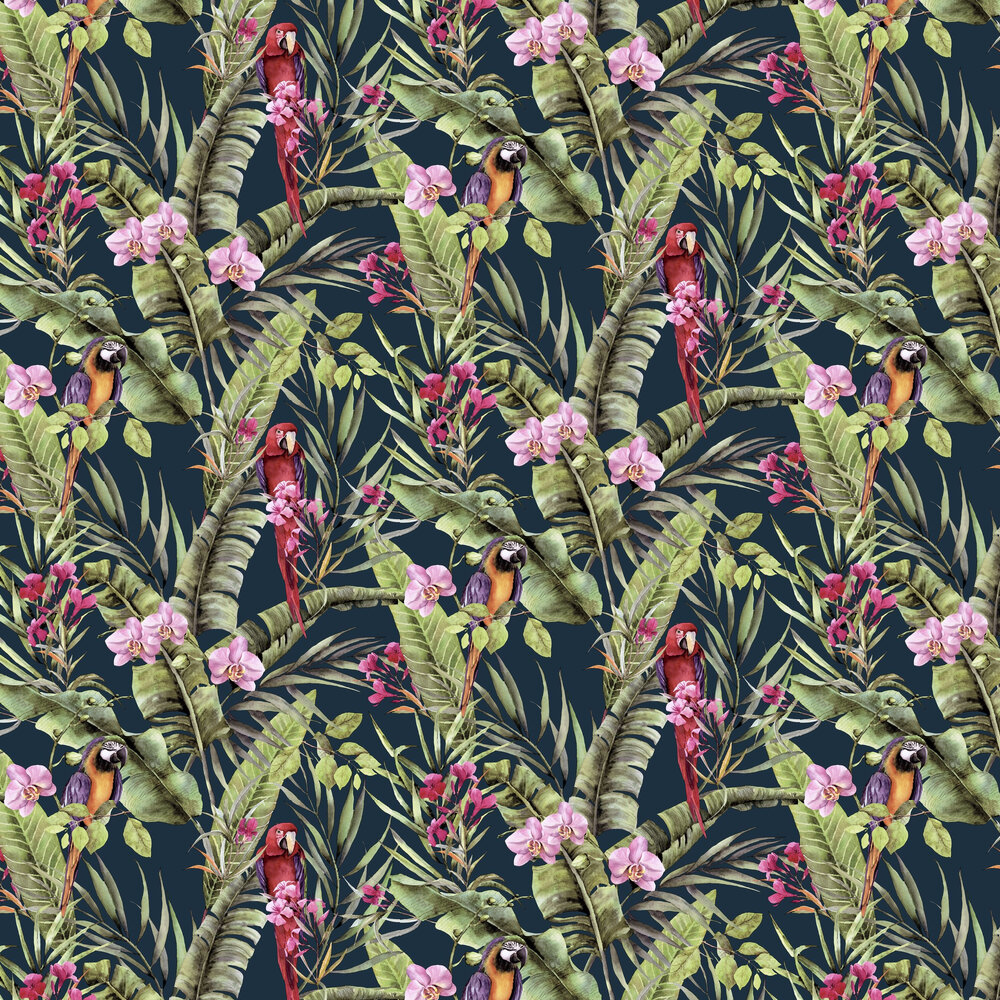 Pretty Polly  Wallpaper - Multi - by Arthouse