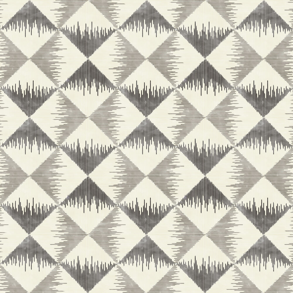 Aztec Geometric Wallpaper - Mono - by Arthouse