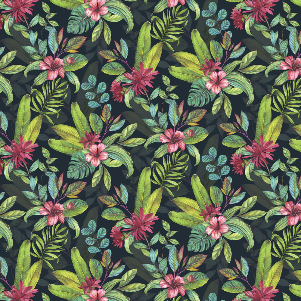 Tropical Paradise  Wallpaper - Multi - by Arthouse
