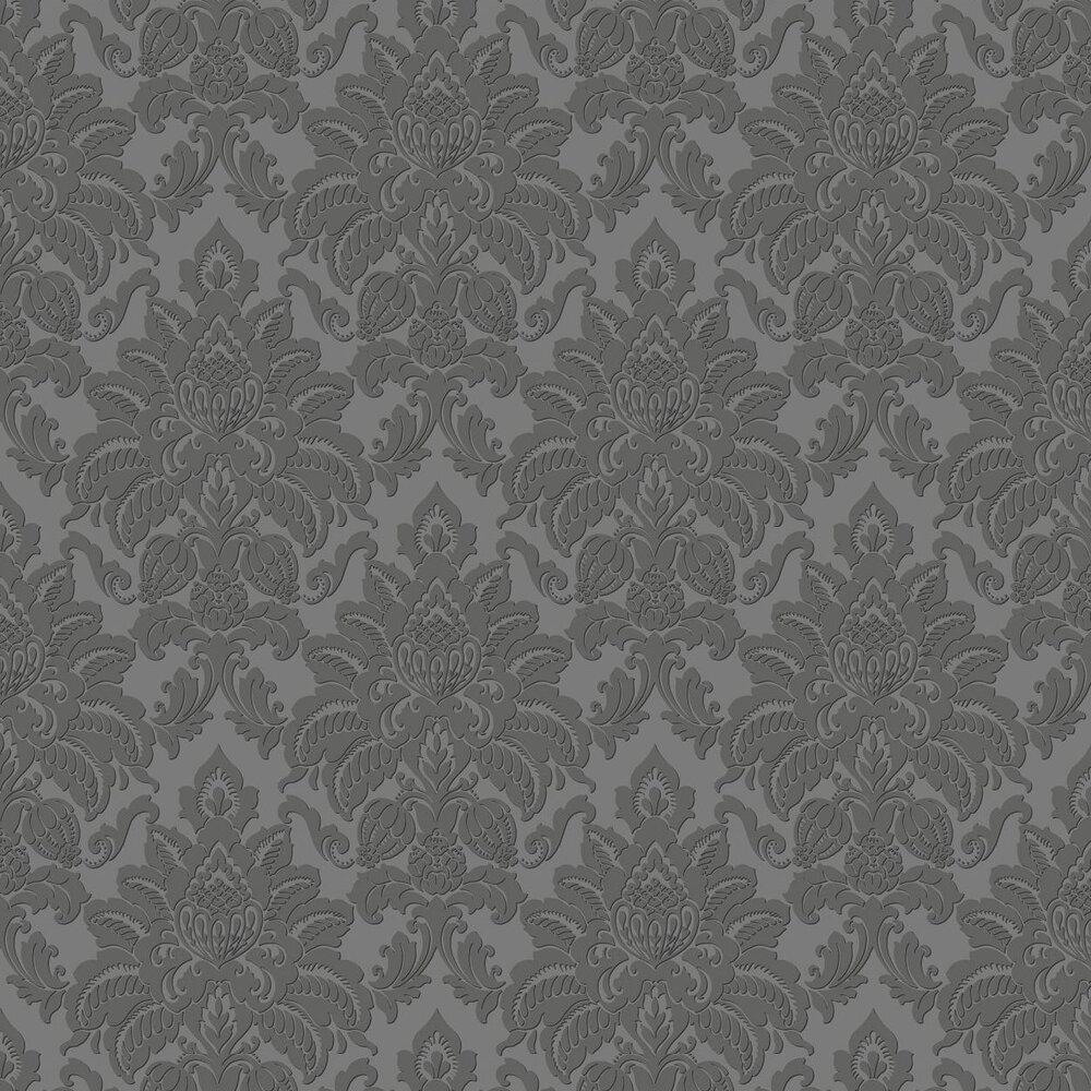Glisten Wallpaper - Gunmetal - by Arthouse