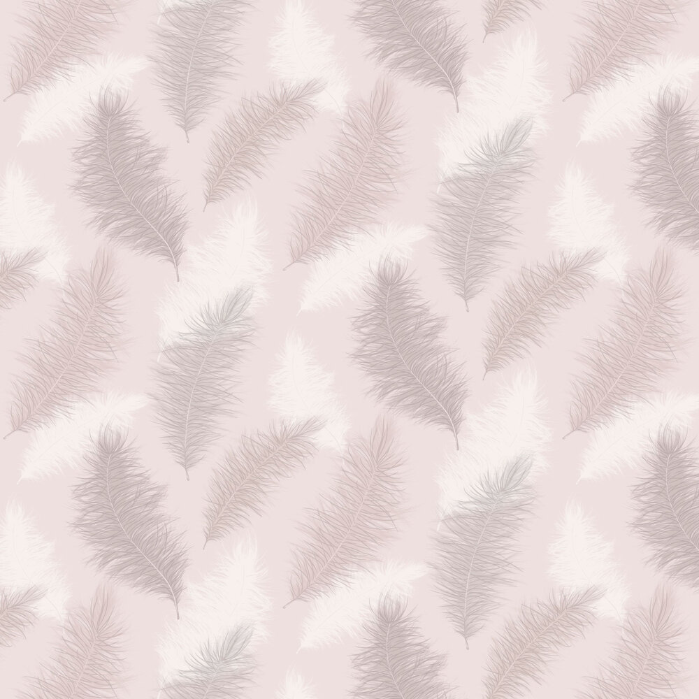 Sussurro  Wallpaper - Blush - by Arthouse
